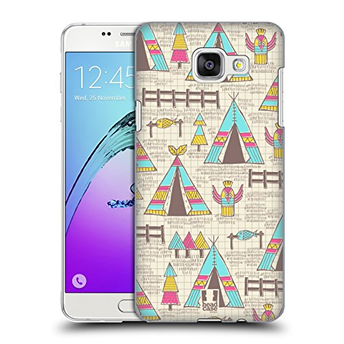 Head Case Designs Spring Village Native Indian Doodles Hard Back Case for Samsung Galaxy A5 (2016)