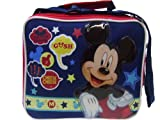 Handy Mickey & Minnie Red Lunch Box & Snack Container
