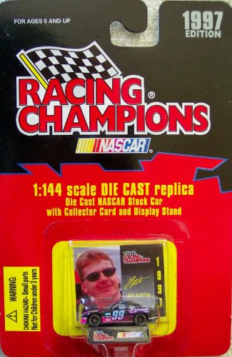 1997 Edition Racing Champions Jeff Burton #99 1:144 Scale Replica Die Cast Replica w/Collector Card and Display Stand - 1