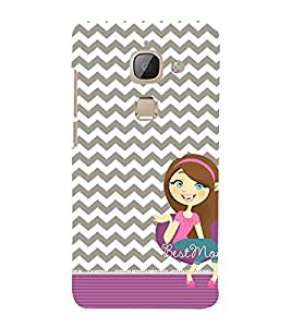 Best Ever Mom Maa 3D Hard Polycarbonate Designer Back Case Cover for LeEco Le Max 2 :: Letv Le Max 2