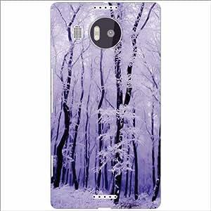 Microsoft Lumia 950 XL Back Cover - Snowy Designer Cases