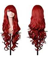 Rbenxia 32'' Cosplay Hair Wig Long Straight Costume Party Full Wigs