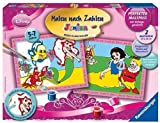 Ravensburger 27722 Paint by Number Set Junior Disney Princess / The Little Mermaid and Snow White / 2 Images 30 x 24 cm