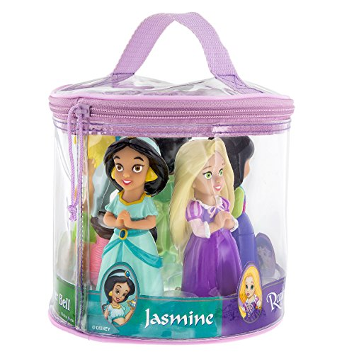 Disney Parks Princess Pool Bath Toys Including Tinkerbell, Tiana, Rapunzel, Mulan, and Jasmine - 1