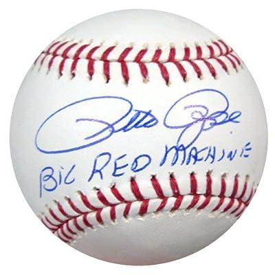 Pete Rose Cincinnati Reds Autographed MLB Baseball Big Red Machine - PSA/DNA Authentic
