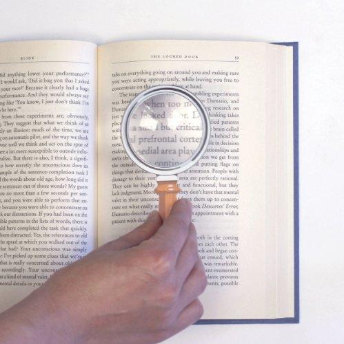 Kikkerland Fresnel Magnifier Bookmark (MG03)