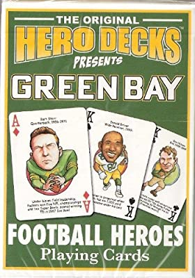 Green Bay Packers Football Playing Cards