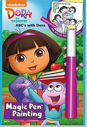 Dora the Explorer Magic Pen Painting - ABC's with Dora - 1