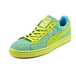 Puma X Solange Suede Women\'s Court Sneakers Shoes Green Size 10
