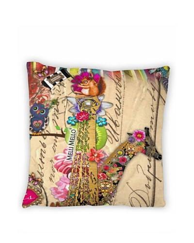 Melli Mello Fodera cuscino Arredo Pillowcase Parie Multicolore 50 x 50cm