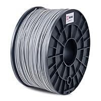 BuMat PLAGY Filament 1.75mm 1kg 2.2lb Printing Material Supply Spool for 3D Printer, Gray from Sans Digital