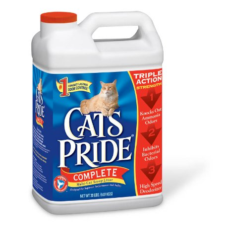 51YH0gEy5KL $6.92 Cats Pride Complete Multi Cat Scoopable Litter Jug, 20 Pound