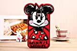 Cute Disney Cartoon Silicone Soft Back Mobile Phone Case Cover for Samsung Galaxy S5 I9600 (Minnie Mouse)