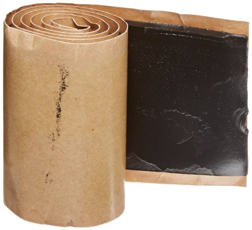 """Nsi Industries Ewmt 1252524 Epr Rubber Mastic Lined Tape, 2.5"""" Width, 2' Length, 0.125"""" Thick"""
