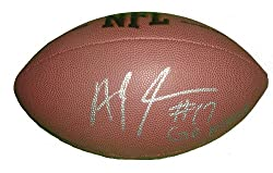 "San Francisco 49ers A.J. Jenkins Autographed NFL Wilson Composite Football Featuring ""Go Niners"" Inscription, Super Bowl XLVII, Proof Photo"