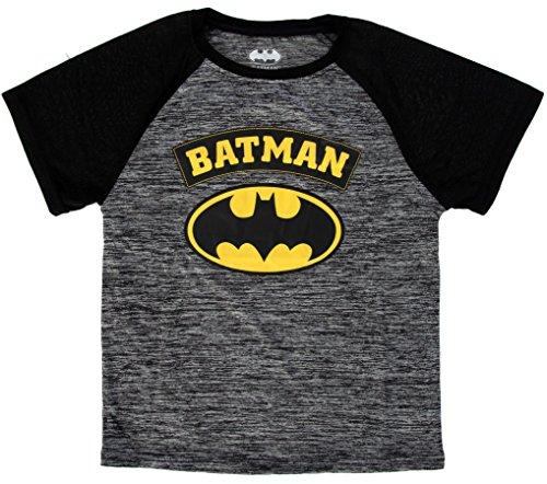 DC Comics Boy's Batman Superhero Logo T-Shirt Batman 7