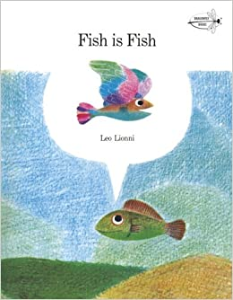 Book with fish on cover
