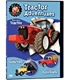 Real Wheels: Tractor Adventures (Tractor, Dump Truck and Farm Truck)