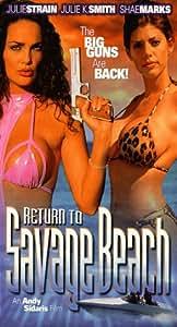 Return to Savage Beach [VHS]