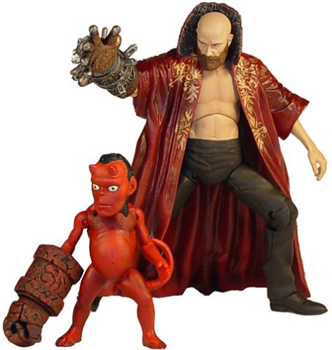 Buy Low Price Mezco Hellboy Rasputin & Hellbaby Action Figures Previews Exclusive (B00018I22E)
