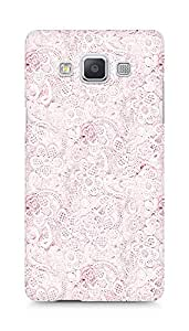 Amez designer printed 3d premium high quality back case cover for Samsung Galaxy A5 (pink lace)