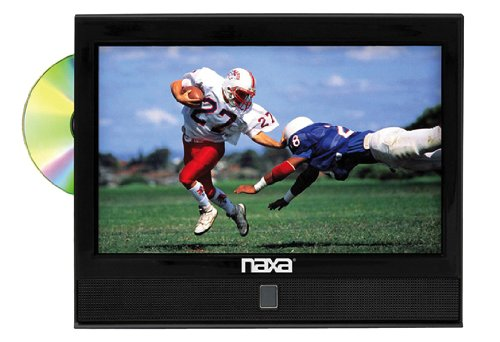 13.3 Inch Naxa Rbntd-1353 12V Ac/Dc Led 1080I Hdtv Atsc Digital Tuner With Dvd Player
