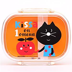 coupon for yellow decole cat with apple bento box lunch box coupon amazon. Black Bedroom Furniture Sets. Home Design Ideas
