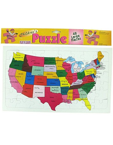 Picture of Kole Imports U.s.a. Puzzle pack of 72 (B004GYM85Q) (Pegged Puzzles)