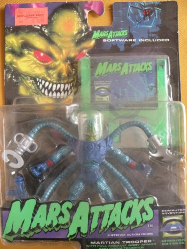Mars Attacks - Martian Trooper with Doom Tendrils by Trendmasters