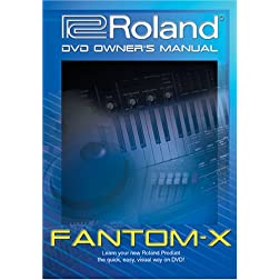 Roland Fantom-X DVD Video Training Tutorial Help X6, X7, X8