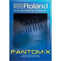 Roland Fantom-X DVD Video Training Tutorial Help X6, X7, X8