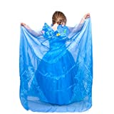 Cinderella Live Action Inspired Sparkling Butterfly Enchanted Cape and Wristband