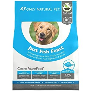 Only Natural Pet Canine PowerFood Just Fish Feast 4.5lb