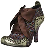 Irregular Choice Women's Abigails Party Ankle Boots Gold Multi