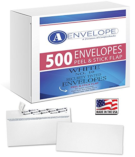 #10 Security Envelopes - SELF SEAL - Windowless, (500 Count) 4