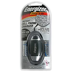 Energizer Energi-To-Go Battery Operated Instant Cell Phone Charger
