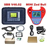 Best Quality Silca SBB V48.99 V48.88 V46.02 V33.02 Works Multi-Brand Car SBB Transponder Key Programmer Multi-Language (SBB V46.02 ZedBull) (Color: SBB V46.02 ZedBull)