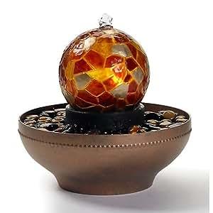 Homedics WFL-ART Artesian Globe Tabletop Fountain
