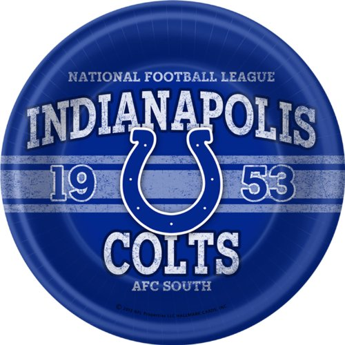 Indianapolis Colts Dinner Plates