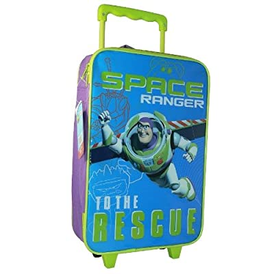 Toy Story 3 Kids Boys Large Trolley Wheeled Tavel Cabin Hand Luggage Rolling Bag from SAMBRO