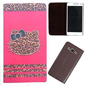 DooDa - For Nokia Lumia 640 LTE PU Leather Designer Fashionable Fancy Flip Case Cover Pouch With Smooth Inner Velvet