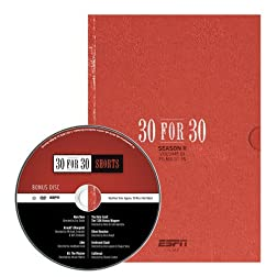ESPN 30 for 30 Gift Set Collection Season II - Volume I, with Bonus Disc
