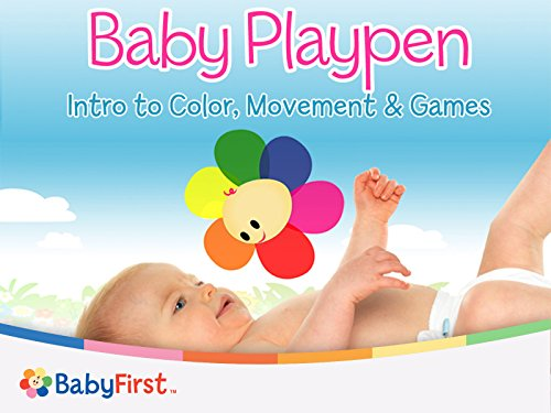 Baby Playpen Intro to Color Movement And Games Series - Season 1