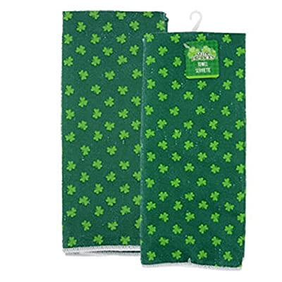 St. Patrick's Day Shamrock Towels Pack of 4