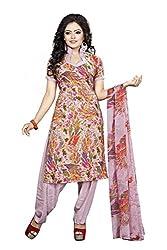 Divyaemporio Women'S Multicolor American Faux Crepe Salwar Suits Dress Material