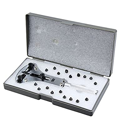 Watch Repair Tool Back Opener Large XL Wrench Waterproof Screw Case by cateep