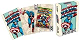 Captain America Old School Marvel Playing Cards