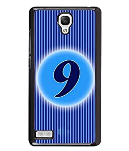 Fuson 2D Printed Numerology Designer back case cover for Xiaomi Redmi Note - D4227