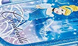 Tight lunch box 360ml Cinderella 15 Disney QA2BA