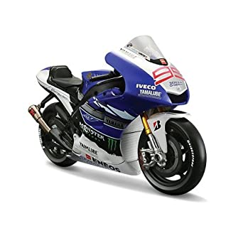 Amazon.com: Maisto 1:10 Scale 2013 Yamaha Factory Racing Team ...